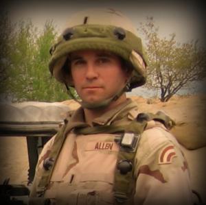 1st Lt. Louis Allen, HHC, 42ID